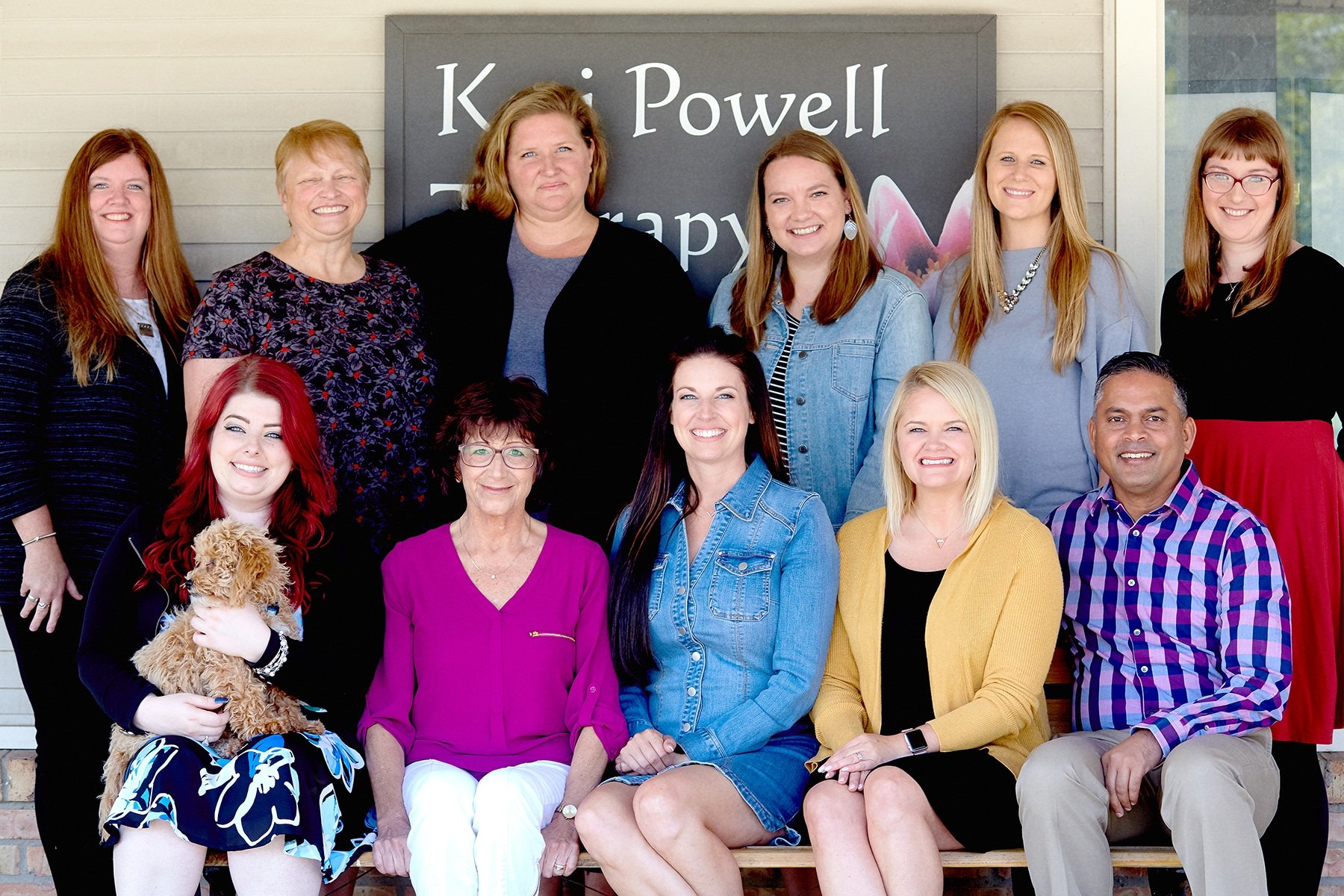 the staff at Keri Powell Therapy